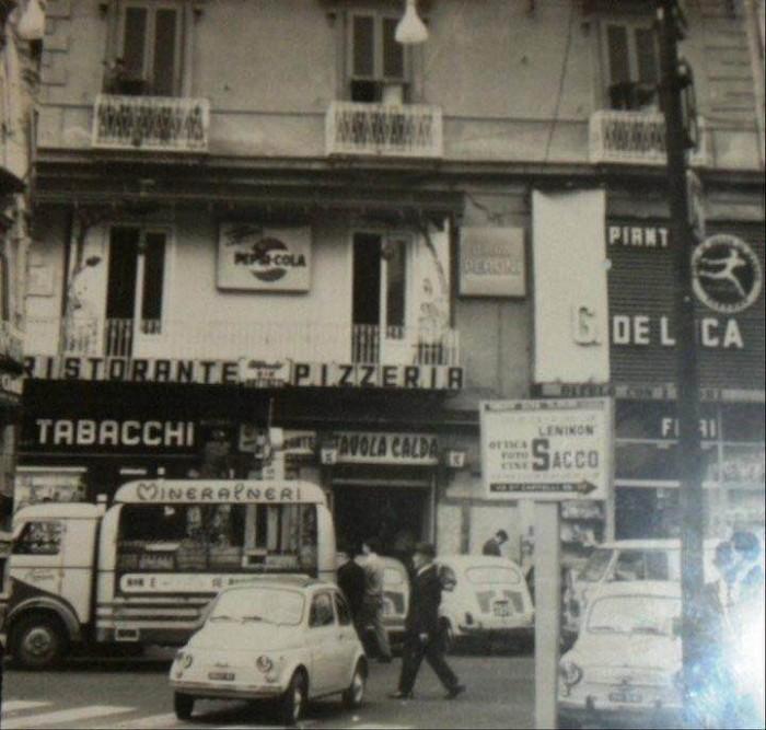 la Pizzeria Mattozzi di piazza Carità