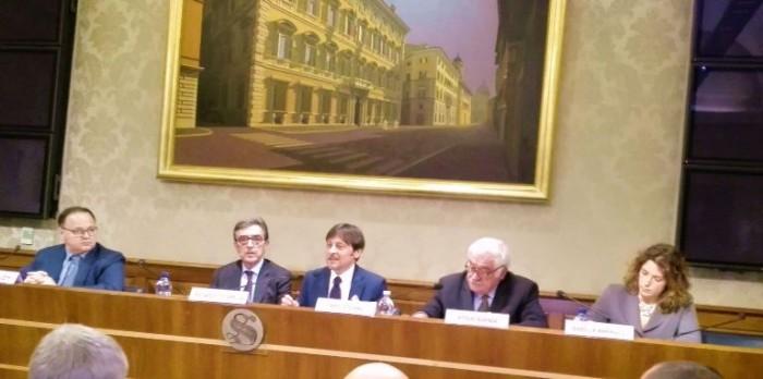la presentazione del disegno di legge per l'introduzione del vino come materia di studio
