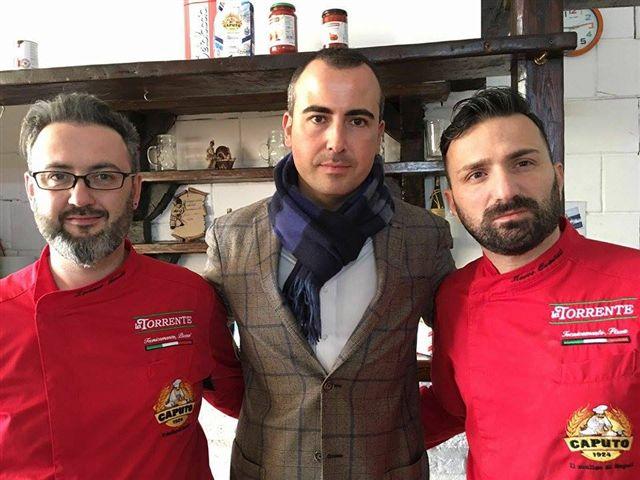 ospite della lezione Gaetano Torrente con Marco Quintili e Lorenzo Amati