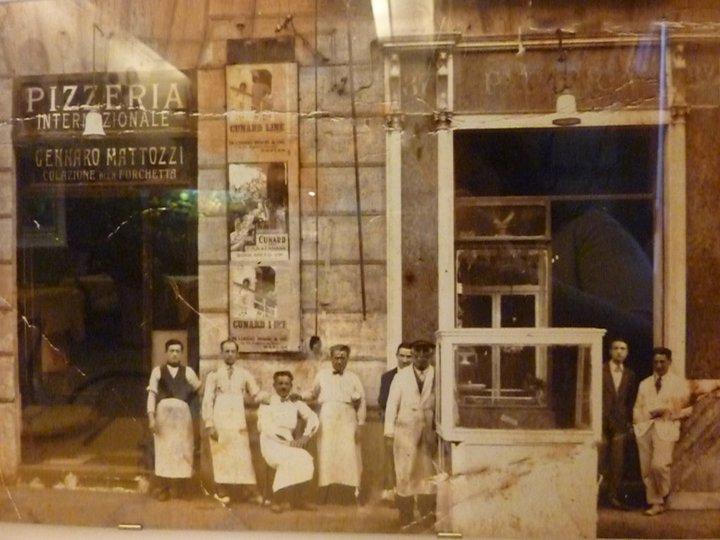 Pizzeria Mattozzi 1950