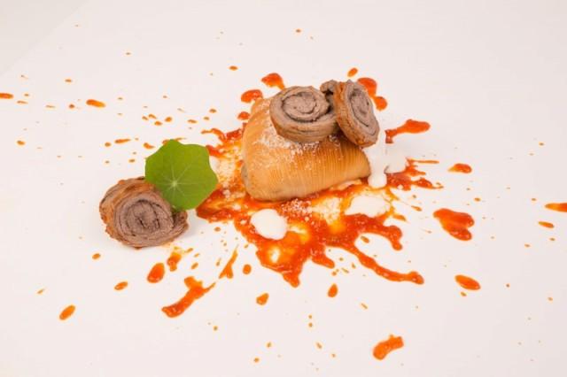 sfogliatalla La ragù - chef Vincenzo Guarino