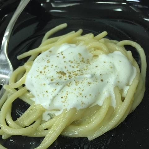 Lo spaghetto al limone di Luigi Taglienti