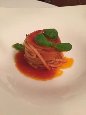 Magnolia Hotel Byron, spaghetti al pomodoro
