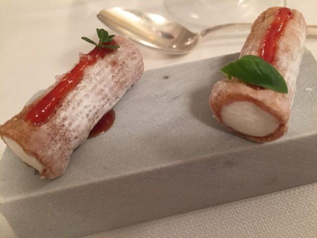 Magnolia Hotel Byron, pre dessert conla pasta