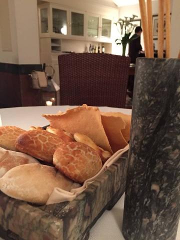 Magnolia Hotel Byron, il pane e i grissini