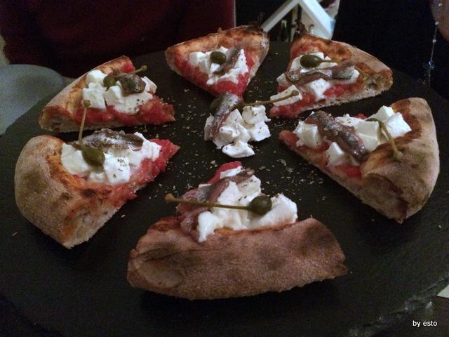 Apogeo. Massimo Giovannini. Pizza Napoli a modo  nostro