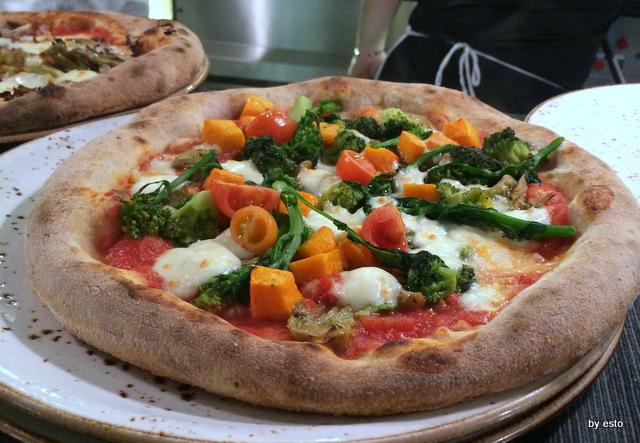 Apogeo. Massimo Giovannini. Pizza Vegetariana