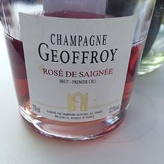 Champagne Brut Premier Cru Rosé de Saignée 2011 Geoffroy