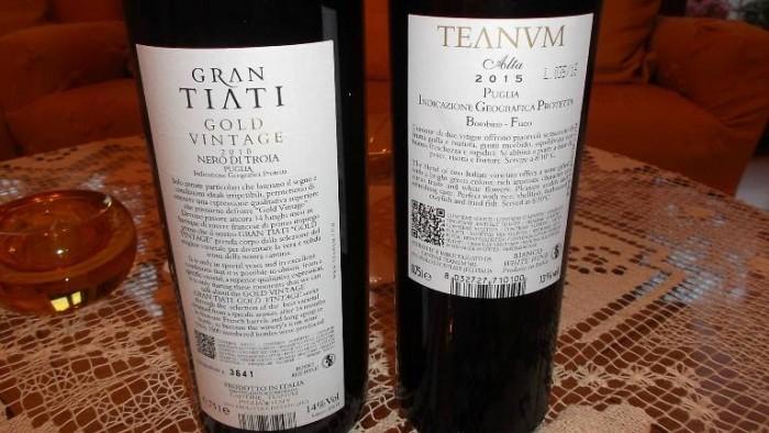 Controetichetta Vini Teanum