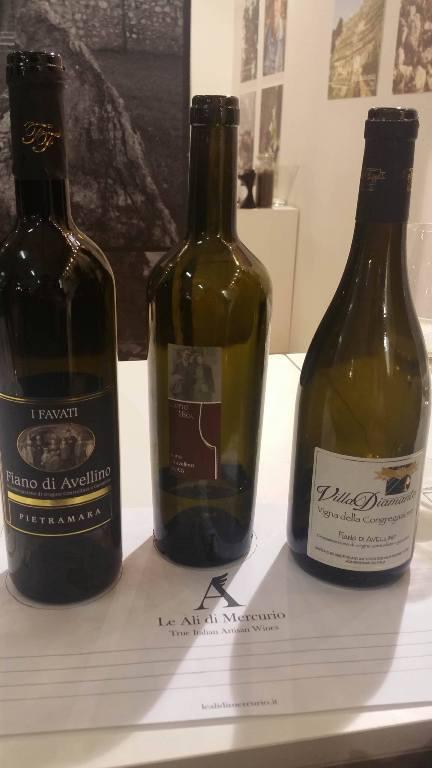 Degustazioni Orizzontali, i tre vini in degustazione