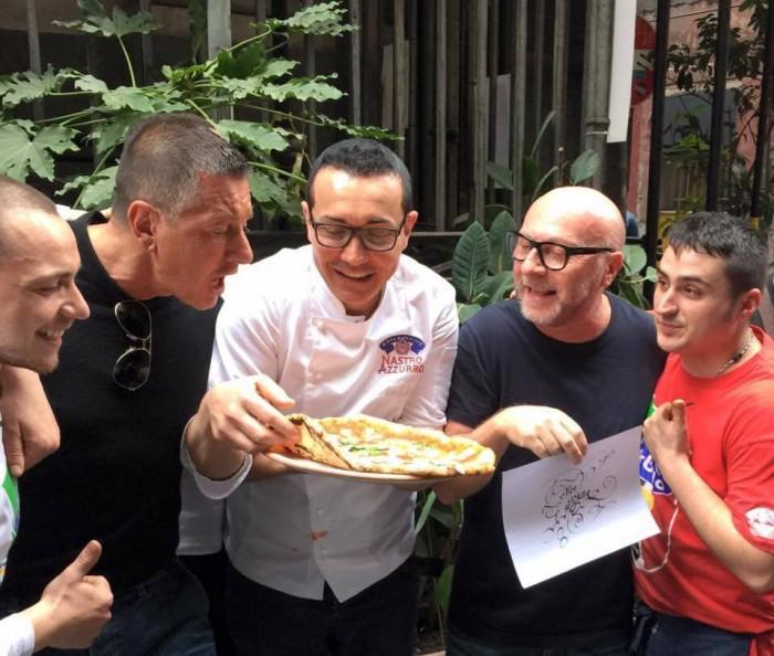 Dolce%Gabbana pizza napoletana