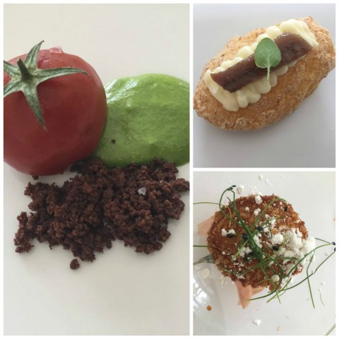 Don Geppi, Brioches croccante alla genovese, Finto pomodoro, Pane Burro e alici