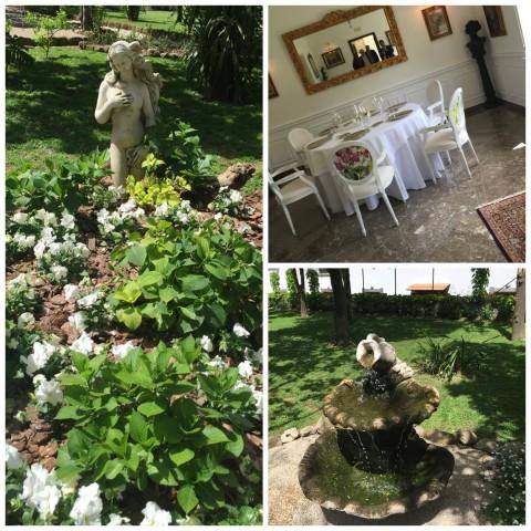 Don Geppi, giardino e sala