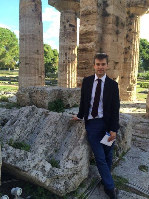 Gabriel Zuchtriegel direttore del Parco Acheologico di Paestum