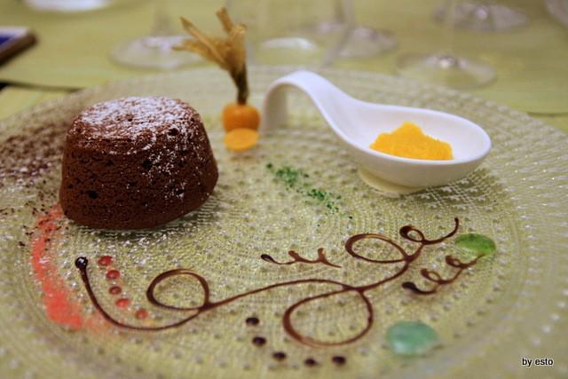 Ghe Kale Cioccolata e arance amare