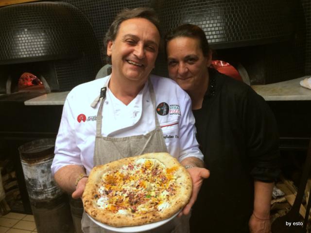 Guglielmo e Rosaria  Vuolo Pizza Vita