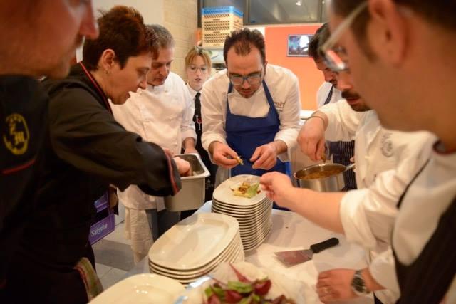 Il Carciofo Bianco di Pertosa nelle creazioni di 10 chef, il lavoro sinergico in cucina