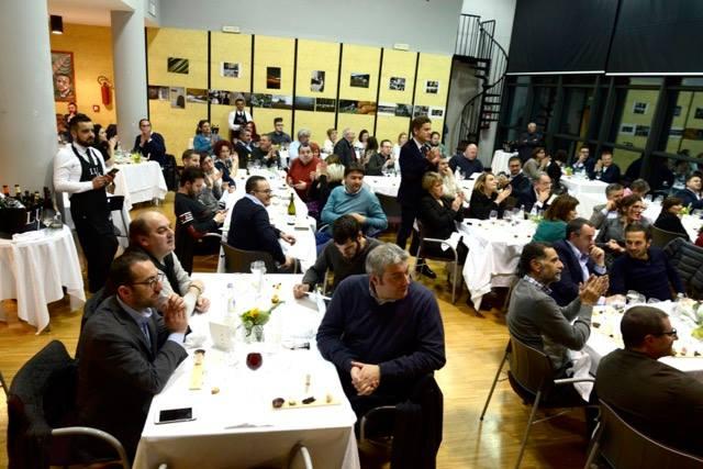 Il Carciofo Bianco di Pertosa nelle creazioni di 10 chef, la sala