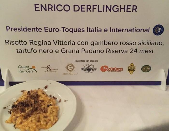 Italia a Tavola, il risotto di Enrico Derfilgher