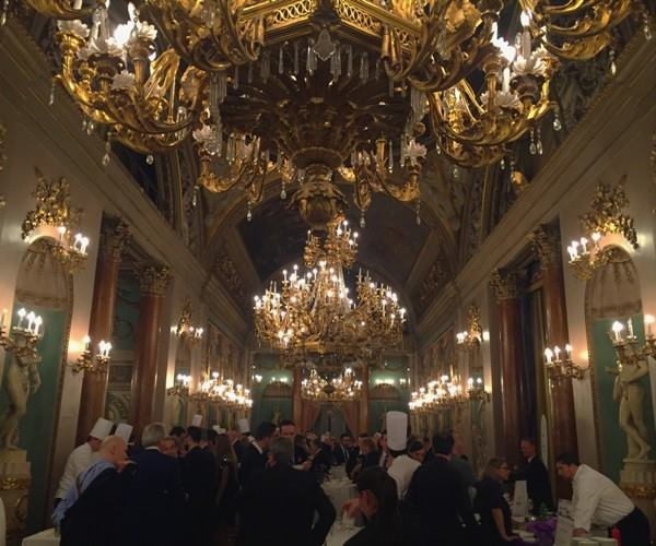 Italia a Tavola, il salone della cena di gala