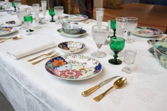 Italia a Tavola, tema dell'evento, la tavola imbandita