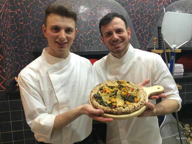 La Chamade. Emanuele e Valerio Di Vaio Pizza Ortolana