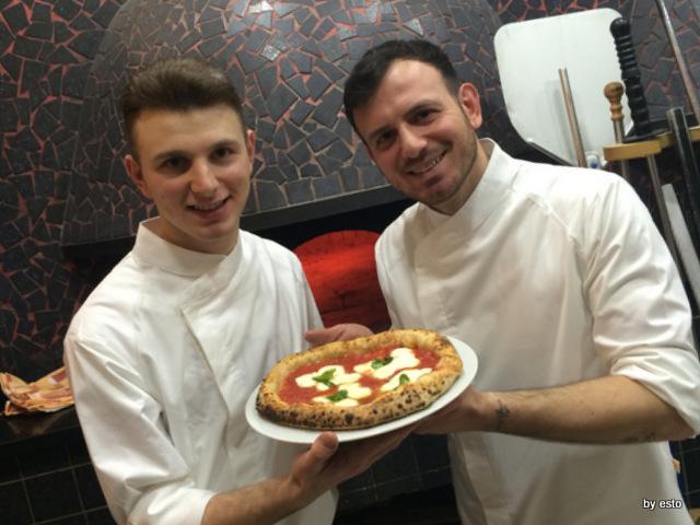 La Chamade. Emanuele e Valerio Di Vaio pizza Petalosa