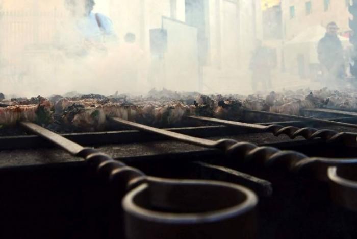 Libando, la cottura dei Torcinelli foggiani