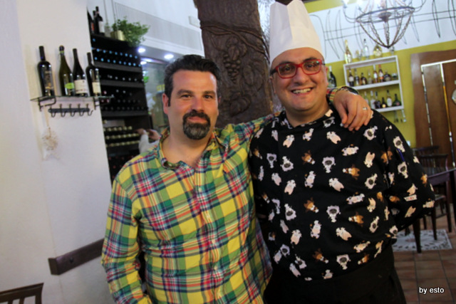 Locanda del baccala Antonio Peluso il patron e Alfredo Bramante il cuoco