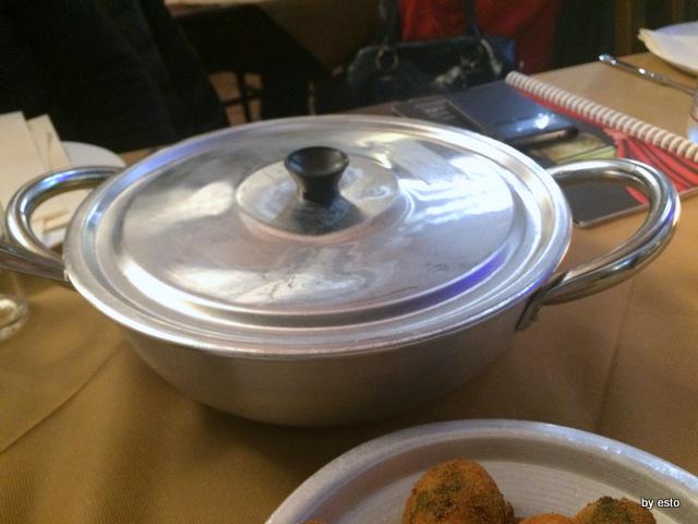 Locanda del baccala tegame di patate e mussillo