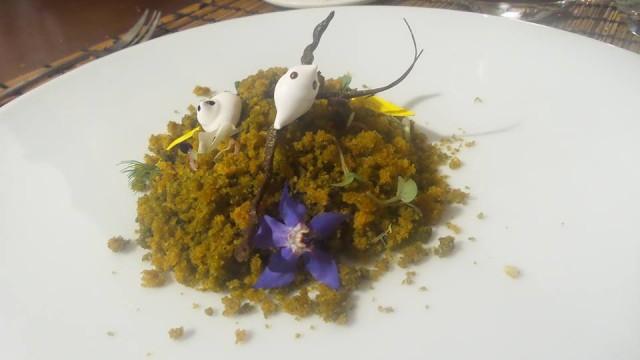 Loretta Fanella e il dessert Arriva la Primavera