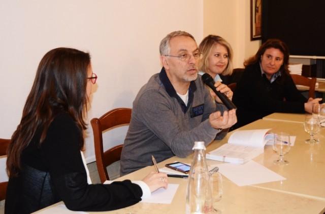 Luciana Squadrilli, Enzo Coccia, Slawka G. Scarso e Laura Gambacorta