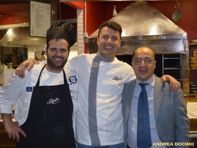 Luciano, Francesco e L'Insolito Pasto da Braceria Bifulco. Francesco Vorraro, Salvatore Annunziata e Sergio Sbarra