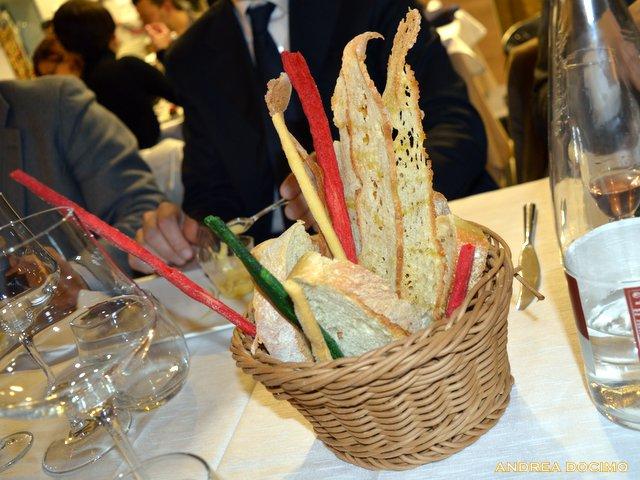 Luciano, Francesco e L'Insolito Pasto da Braceria Bifulco. I pani.