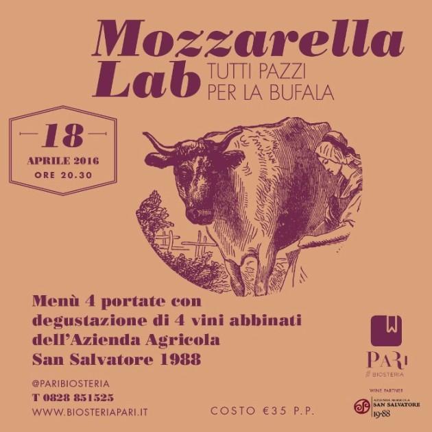 Mozzarella Lab _ tutti pazzi per la bufala al Pari #Biosteria