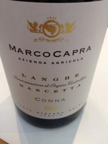 Nascetta 2015 Marco Capra