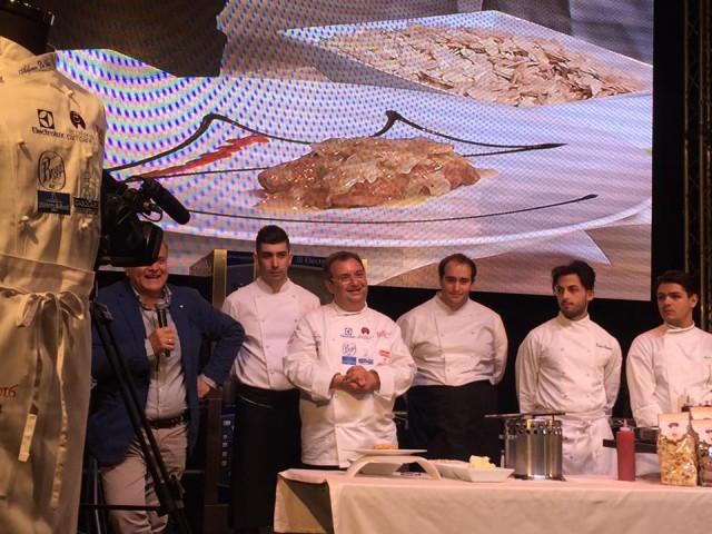 Off 2016 Paolo Gramaglia con il suo piatto
