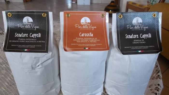 Pier delle Vigne, varietà di farine