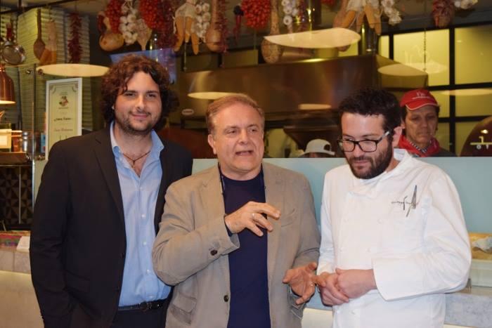 Salvatore Marco Grasso, Tommaso Esposito e Giuseppe Iannotti