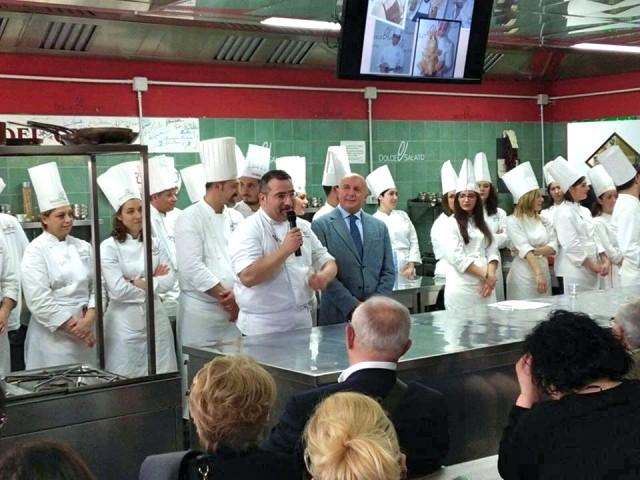 Scuola Dolce & Salato, Gianfranco Iervolino