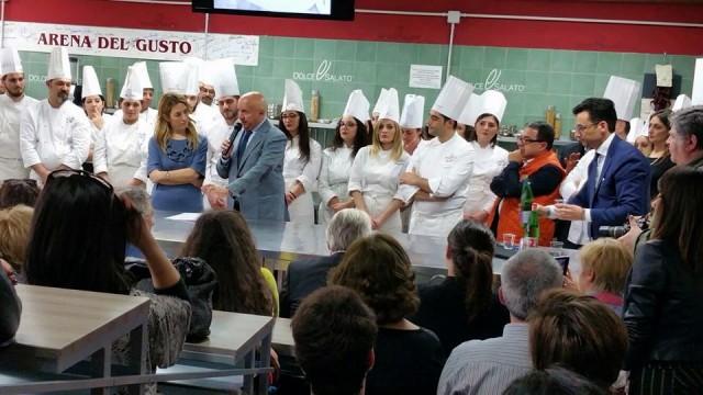 Scuola Dolce & Salato. L'assessore Chiara Marciani