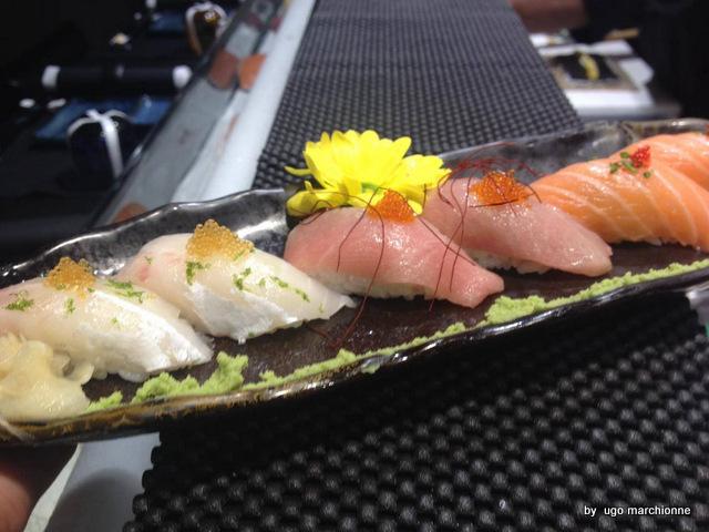 Sushi. Nigiri