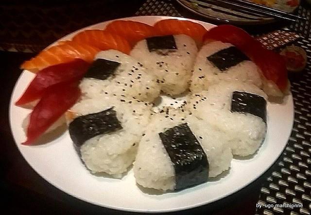Sushi. Onigiri