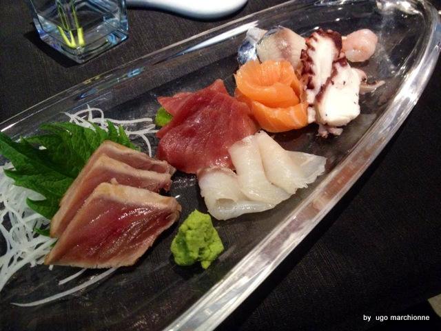 Sushi. Sashimi