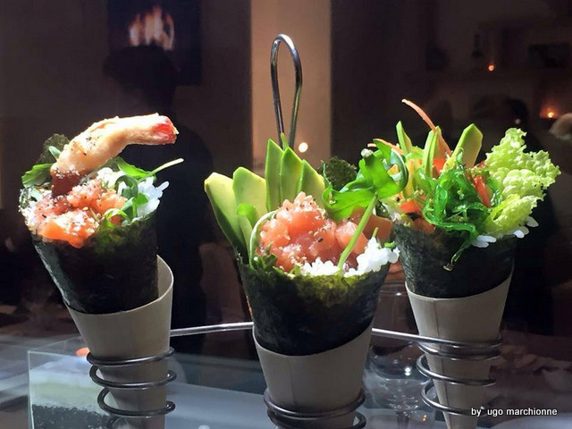 Sushi. Temaki