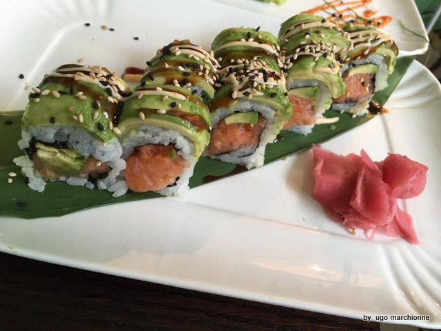 Sushi. Uramaki