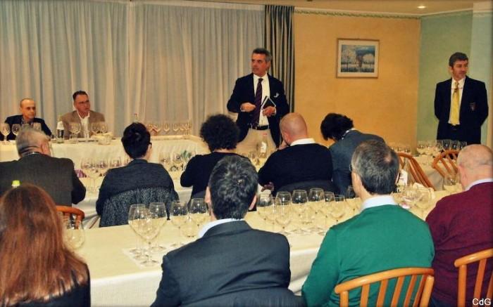 Verticale di  Trebbiano d'Abruzzo Doc c'Incanta, momenti della presentazione