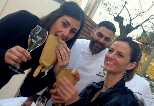 Villa Crespia Vinitaly e  Pizza  Napoletana con  Ivano Veccia i fritti