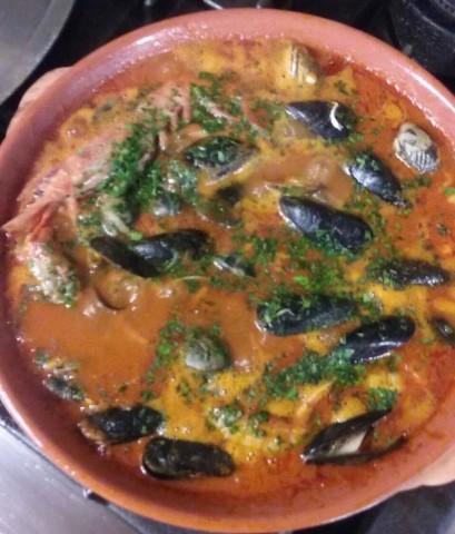 Zuppa di pesce imperdibile