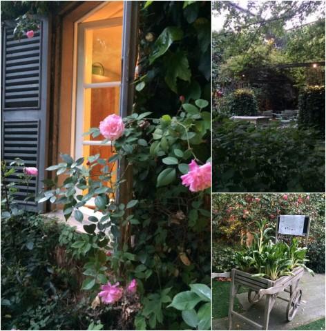 Caffe' Arti e Mestieri, scorci del cortile